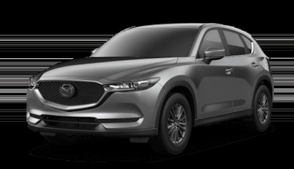 2020 Mazda CX-5 in Machine Gray Metallic