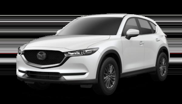 2020 Mazda CX-5 in Snowflake White Pearl Mica