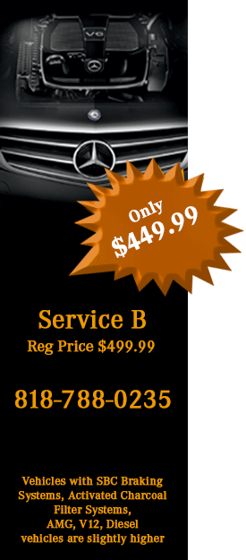 Service parts specials los angeles mercedes benz of for Mercedes benz service b coupons