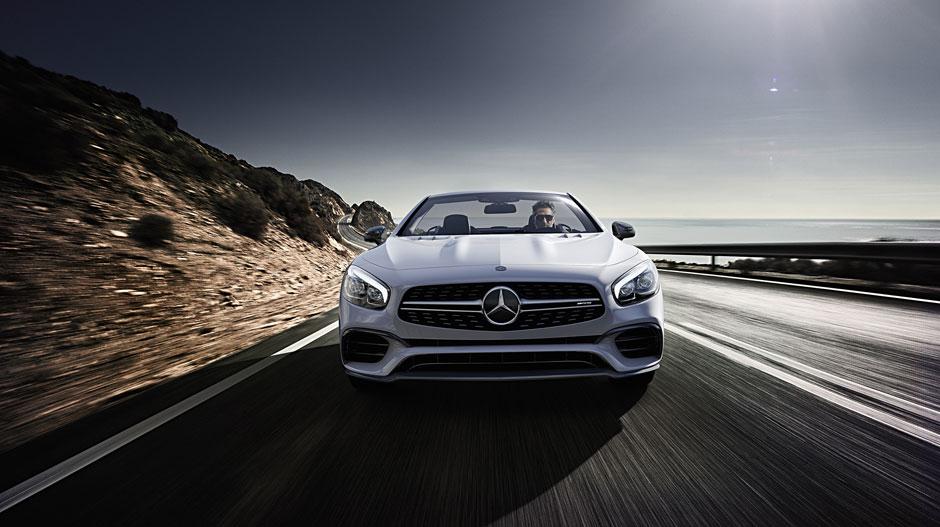 Mercedes benz sl class roadster overview mercedes benz for Mercedes benz service san francisco