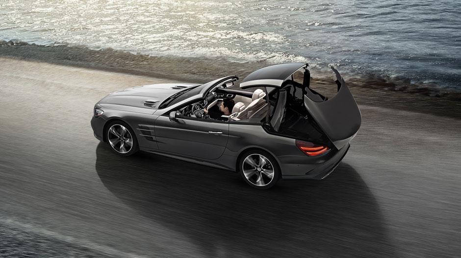 Mercedes benz sl class roadster overview mercedes benz for Mercedes benz of marin service