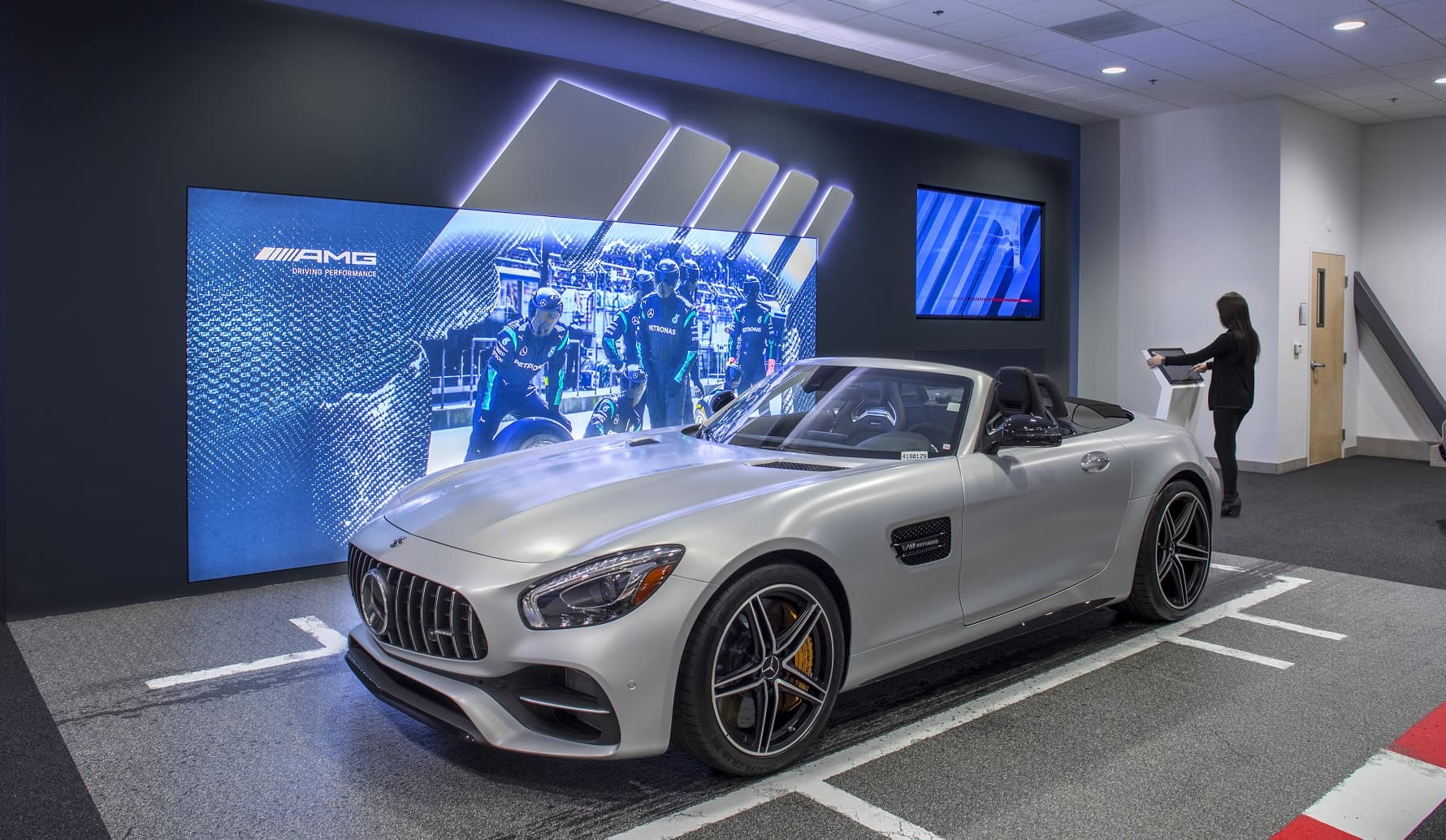 Mercedes benz amg performance center mercedes benz of marin for Mercedes benz racing parts