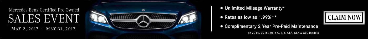 Mercedes Discount Banner Marin