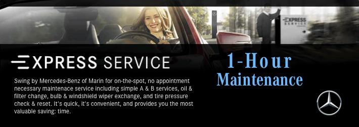 Mercedes-Benz of Marin Service Offer