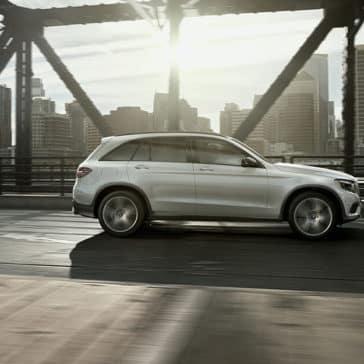 2018 Mercedes-Benz GLC Driving