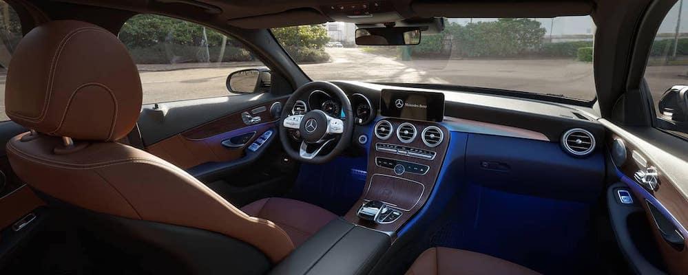 2019 Mercedes-Benz C-Class sedan cockpit interior