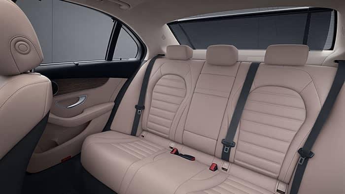 2019 Mercedes-Benz C-Class Rear Seat