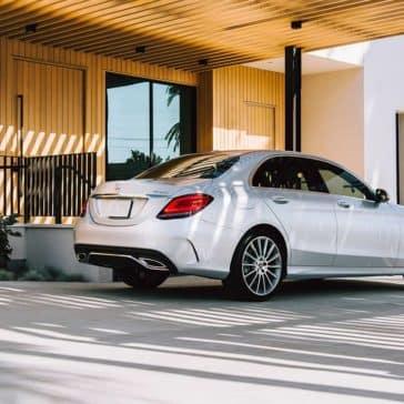 2019 Mercedes-Benz C-Class Rear
