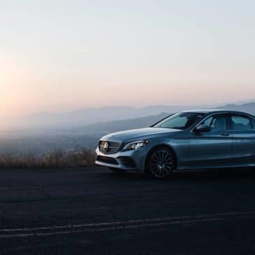 2019 Mercedes-Benz C-Class At Dusk