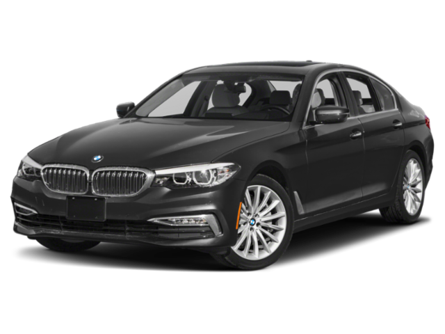 Black 2019 BMW 5-Series 530i