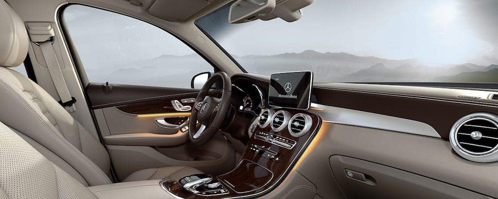 2019 GLC SUV Interior Cockpit