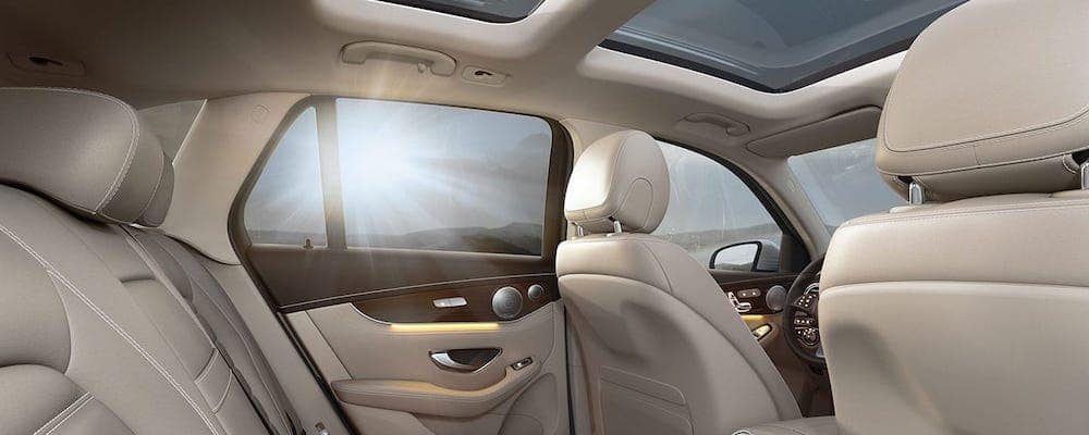 2019 GLC SUV Seating