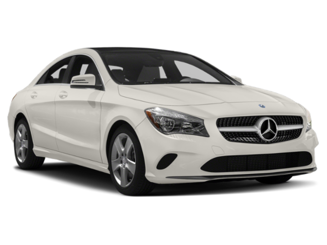 White 2019 Mercedes-Benz CLA 250