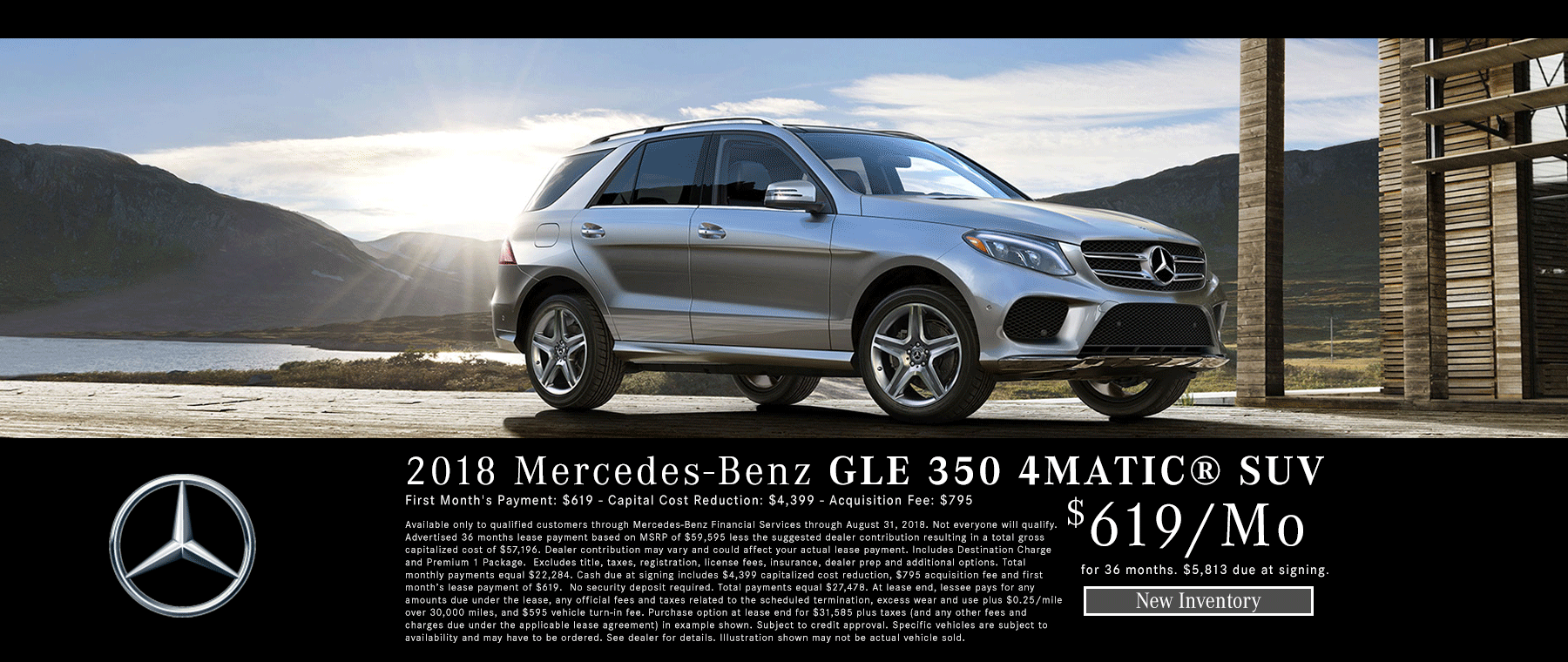 New Mercedes GLE 350 4MATIC SUV For Sale Bakersfield