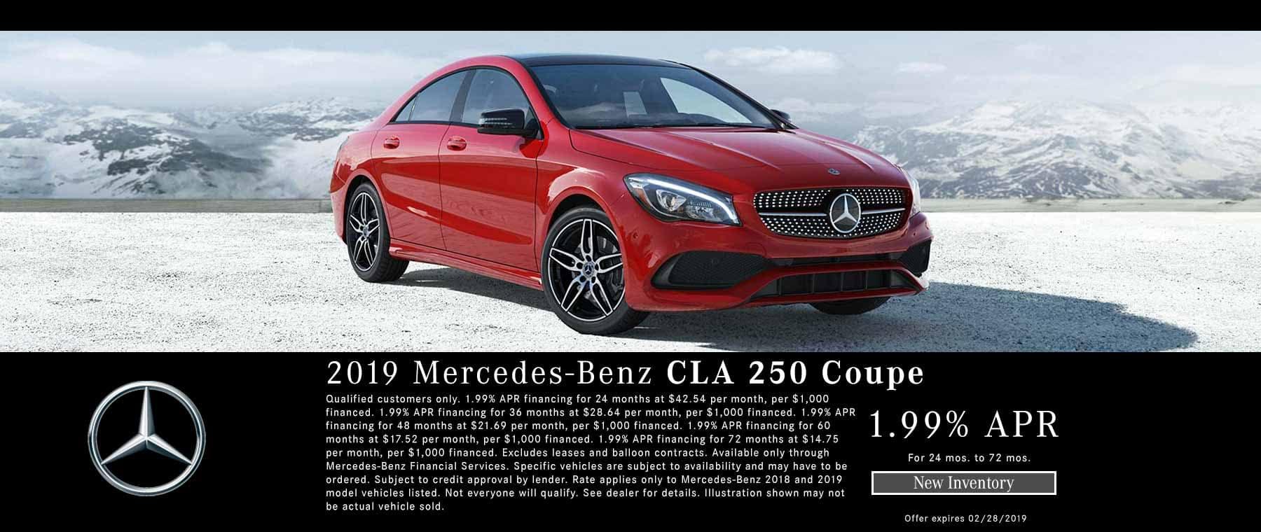 2019 CLA 250 Finance Special Bakersfield