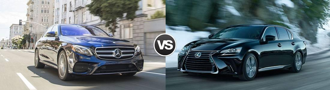 2017 Mercedes-Benz E-Class Sedan vs 2017 Lexus GS 200t