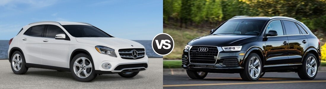 Compare 2018 Mercedes Benz Gla Vs 2018 Audi Q3