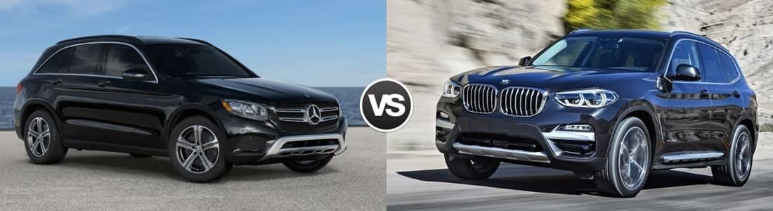 2018 Mercedes-Benz GLC vs 2018 BMW X3