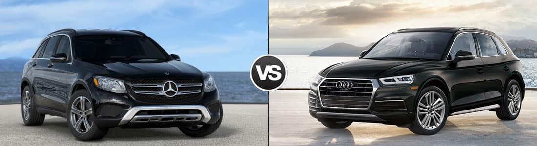 2018 Mercedes-Benz GLC 300 vs 2018 Audi Q5