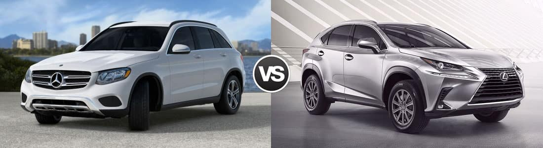 2018 Mercedes-Benz GLC 300 vs 2018 Lexus NX