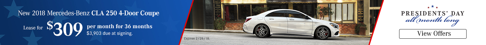 CLA Lease Special