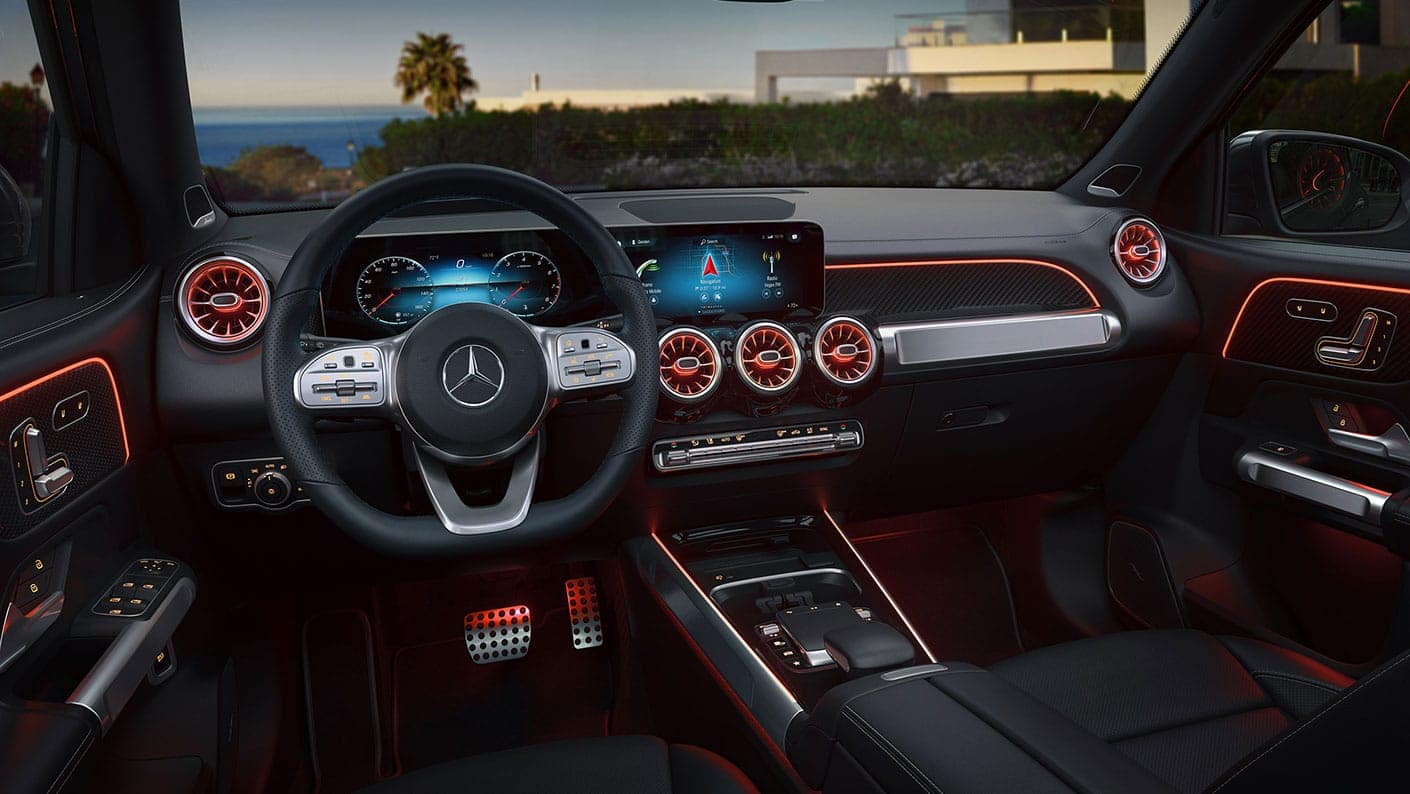 2020 Mercedes-Benz GLB interior