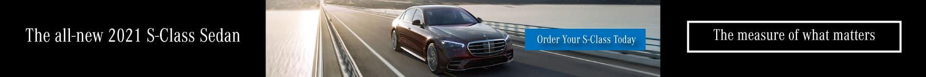 Mercedes-Benz of Lynnwood 2021 S-Class Sedan