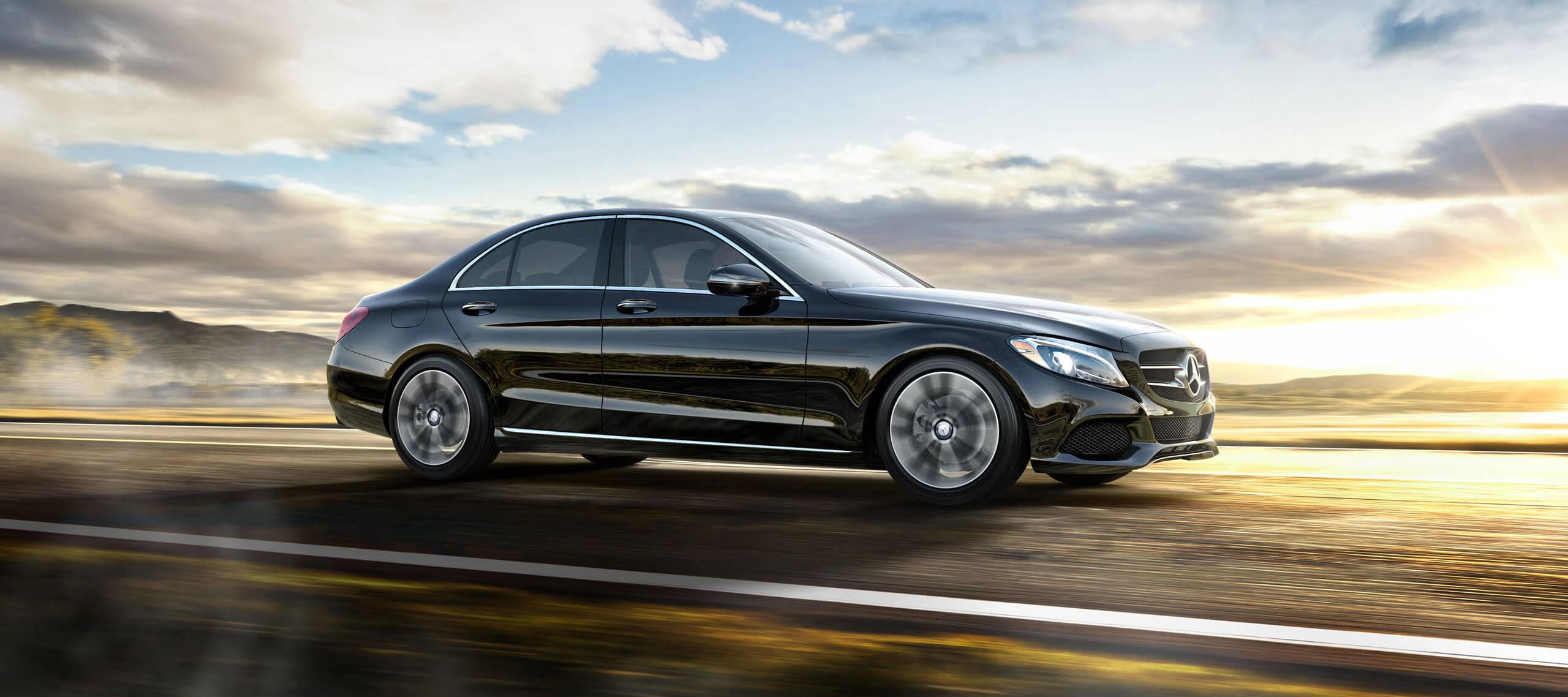 Turn heads inside a new 2017 mercedes benz c class sedan for Mercedes benz memphis