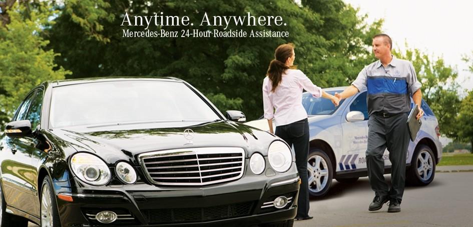 Mercedes benz roadside assistance program for Mercedes benz finance customer service