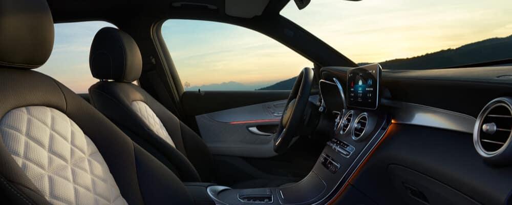 2021 Mercedes-Benz GLC interior front seat