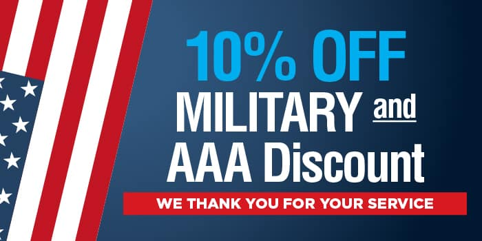 Military Service AAA Discount