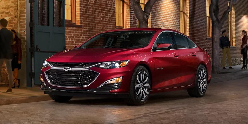picture of chevrolet malibu 2021 red exterior for sale in Hooksett New Hampshire