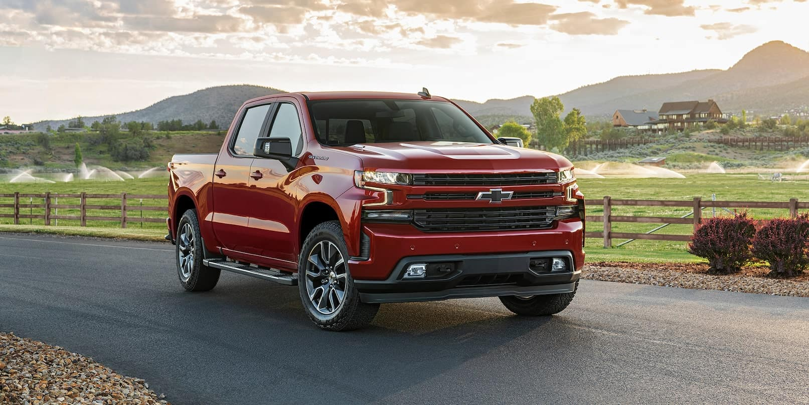 picture of chevrolet silverado 2021 red exterior for sale in Hooksett New Hampshire