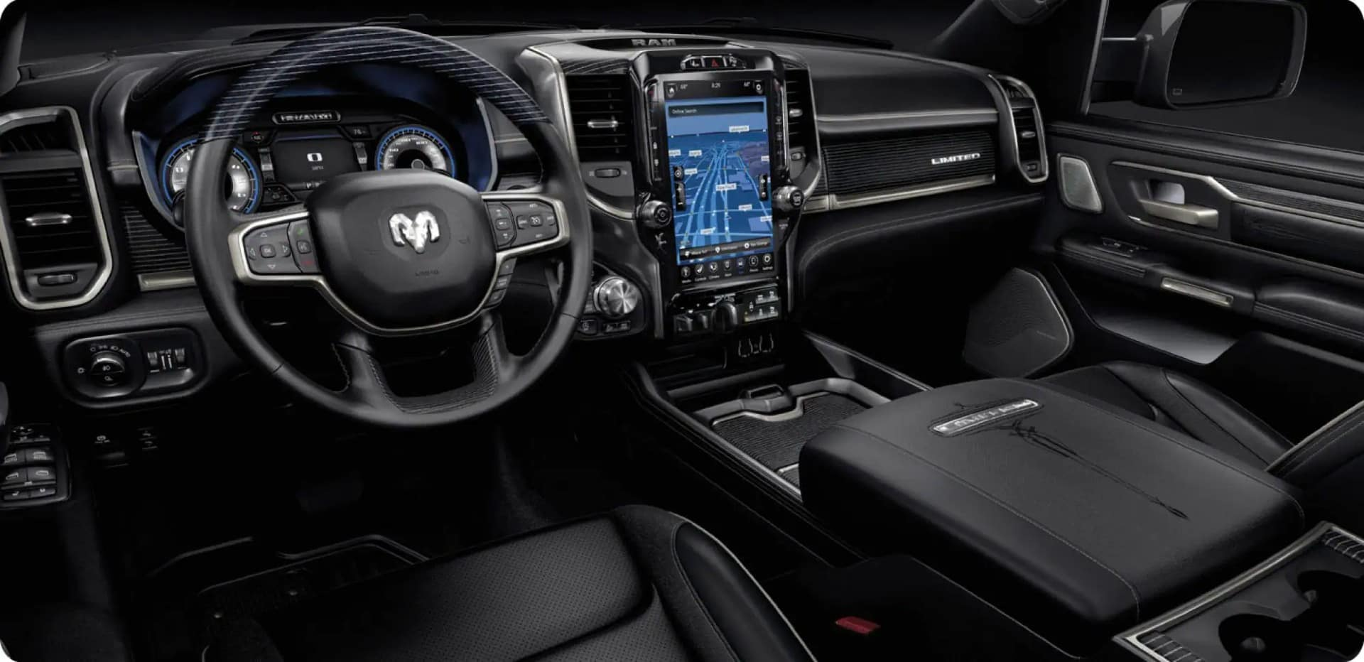 picture of dodge ram 1500 black interior for Sale in Hooksett New Hampshire