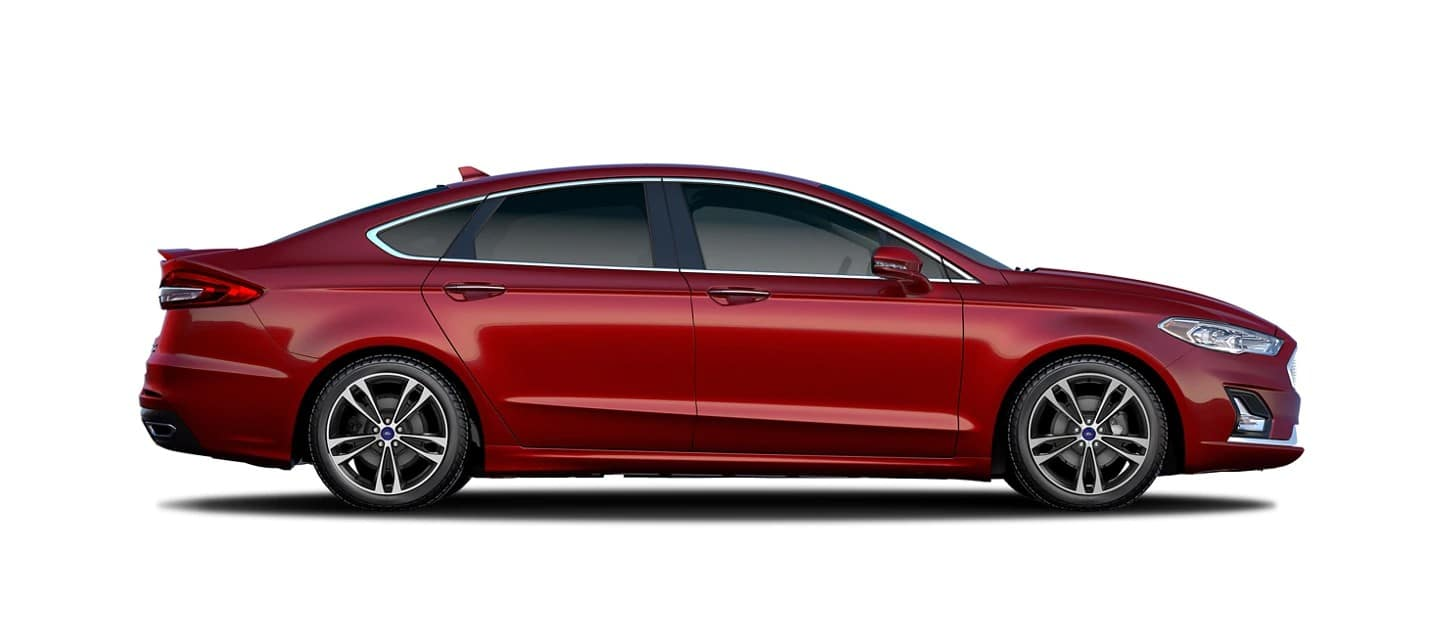 picture of ford fusion sedan 2020 red exterior for sale in Hooksett New Hampshire