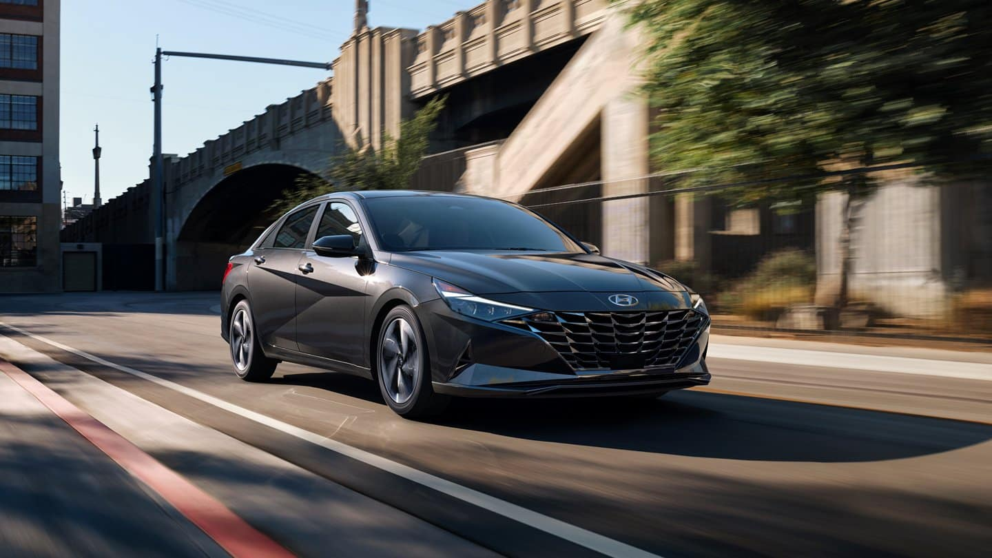 picture of hyundai elantra 2021 silver exterior for sale in Hooksett New Hampshire