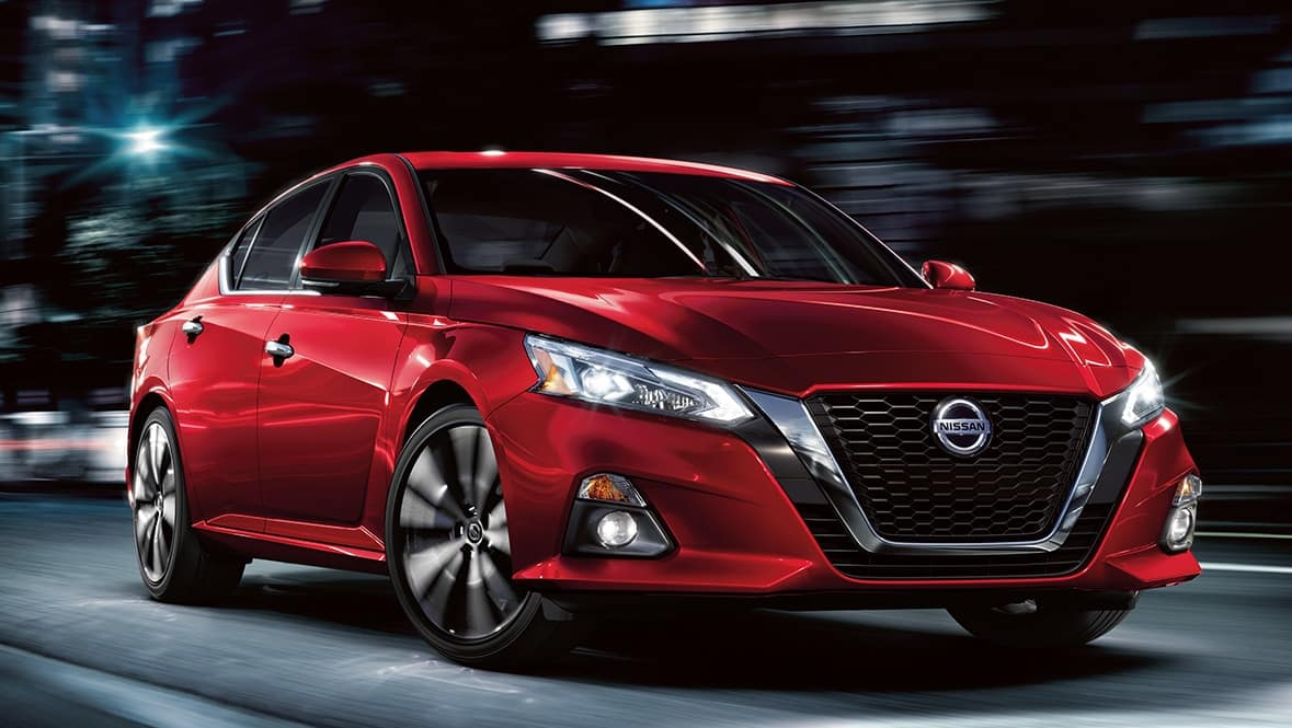 picture of nissan altima 2021 red exterior for sale in Hooksett New Hampshire