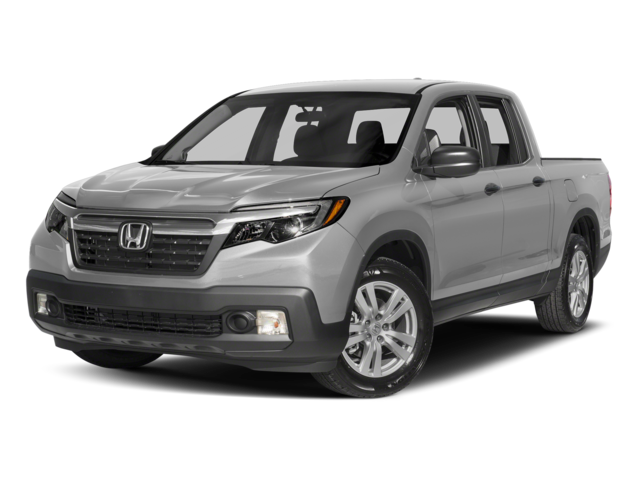 2017 Honda Ridgeline RT Crew white background