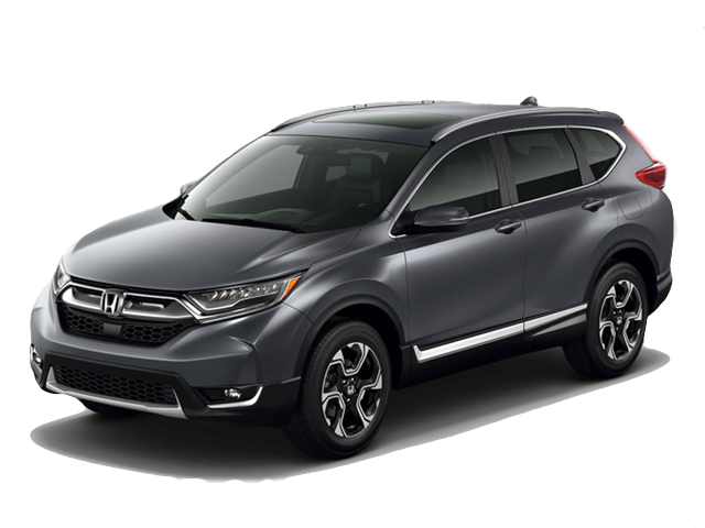 2018 Honda CR-V white background