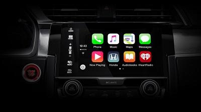 2016 Honda Civic apple carplay