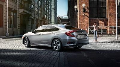 2016 Honda Civic rear view