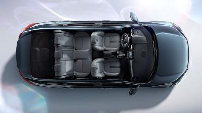 2016 Honda Civic interior seating
