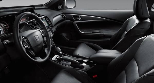 2017 Honda Accord Coupe Interior Design