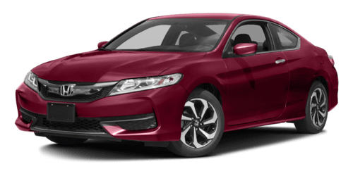 2017 Honda Accord Coupe dark red exterior