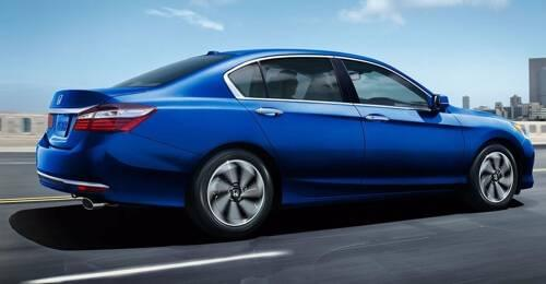 2017 Honda Accord blue exterior model