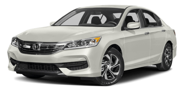 2017 Honda Accord Sedan white exterior model