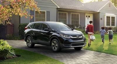2017 Honda CR-V parked