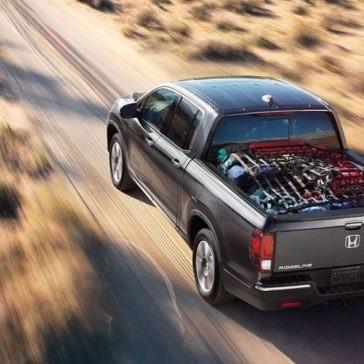 2017 Honda Ridgeline rear view