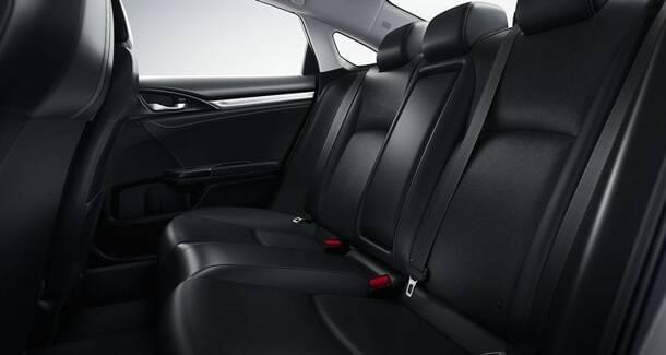 2017 Honda Civic Sedan Interior Space