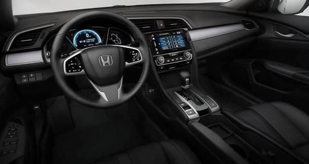 2017 Honda Civic Sedan front interior